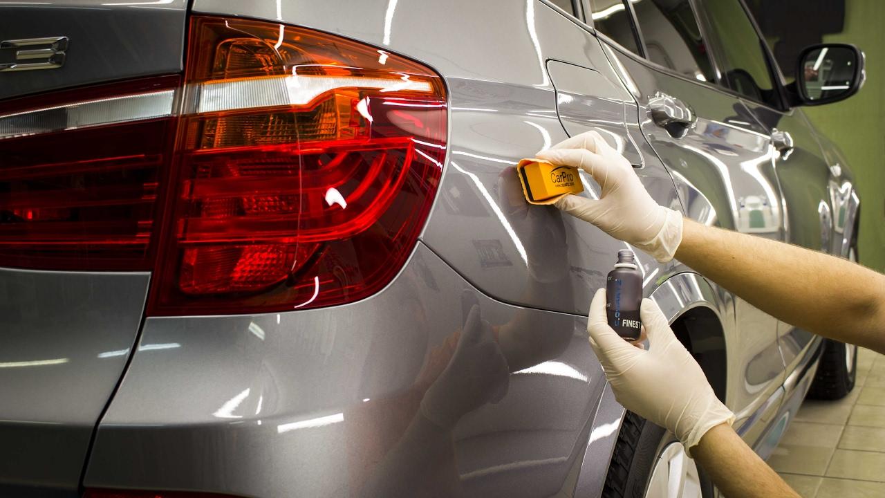 Керамическое покрытие кузова автомобиля по низкой цене в Москве