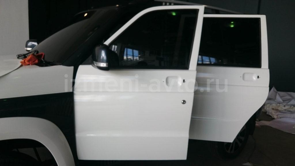 Оклейка пленкой УАЗ Патриот – «Измени Авто»