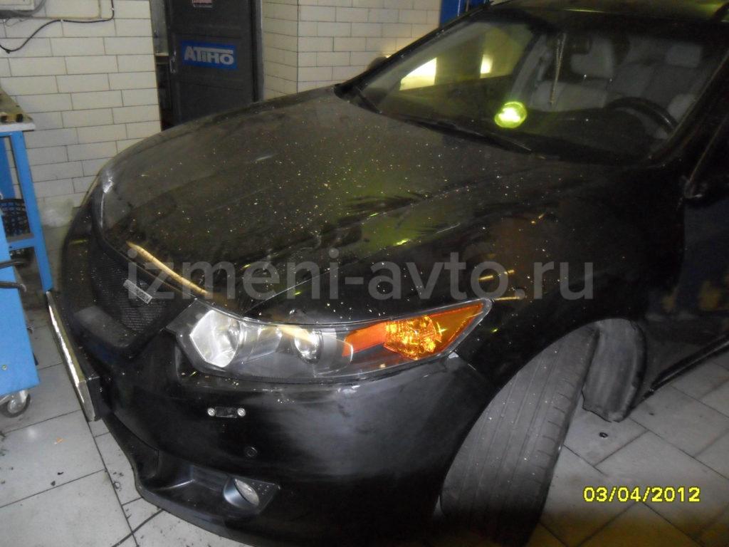 Оклейка матовой пленкойHonda Accord — «Измени Авто»