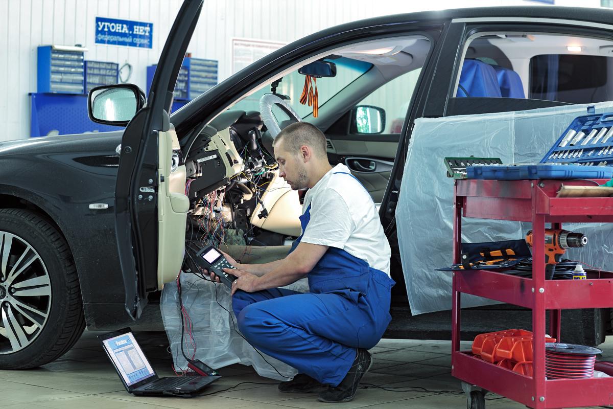 Установка автосигнализаций по низкой цене в Москве в компании «Измени Авто»