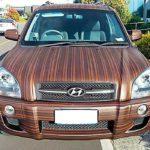 Оклейка авто пленкой под дерево по низкой цене в Москве — «Измени Авто»
