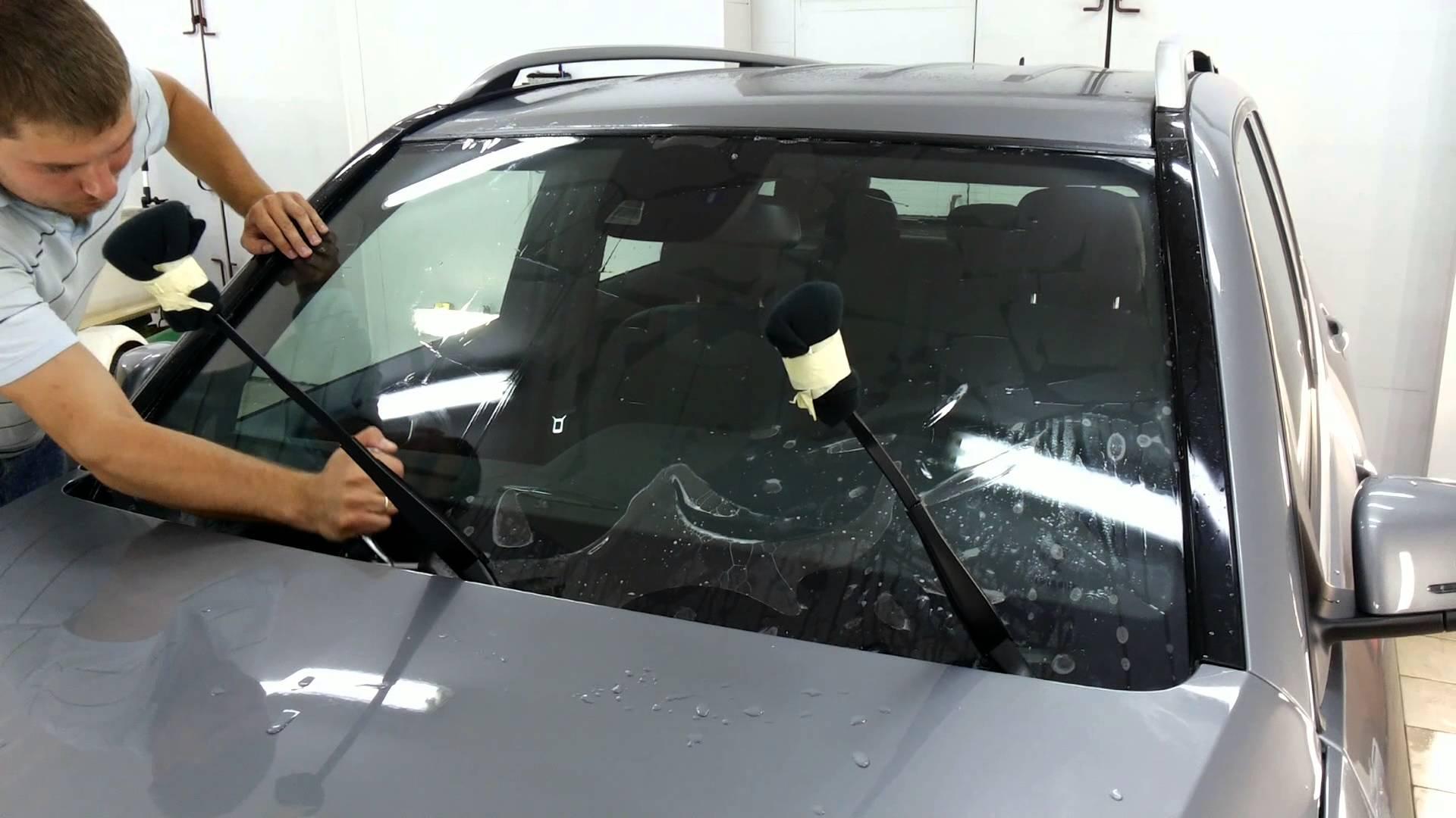 Бронирование лобового стекла автомобиля по низкой цене в Москве — «Измени Авто»