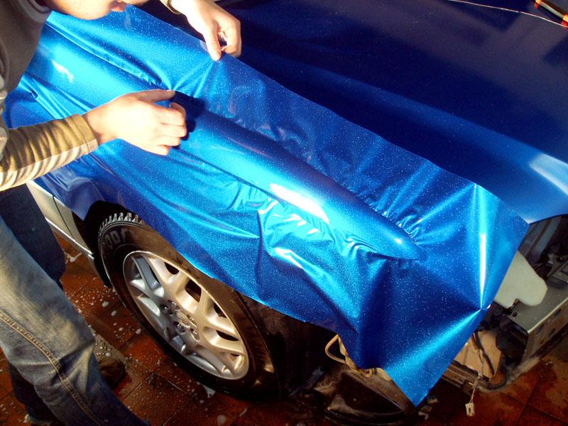 Оклейка крыльев авто пленкой в Москве - «Измени Авто»
