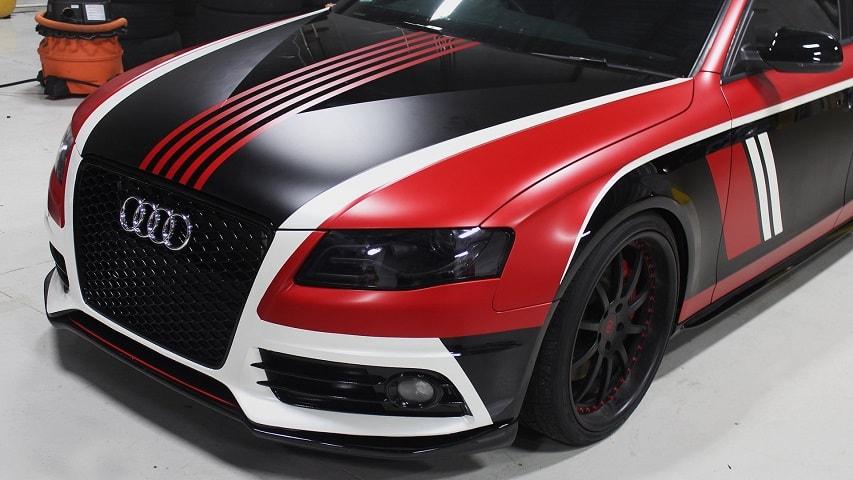 Оклейка авто дизайнерской пленкой по низкой цене в Москве