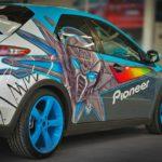 Оклейка авто пленкой «граффити» по низкой цене в Москве — «Измени Авто»