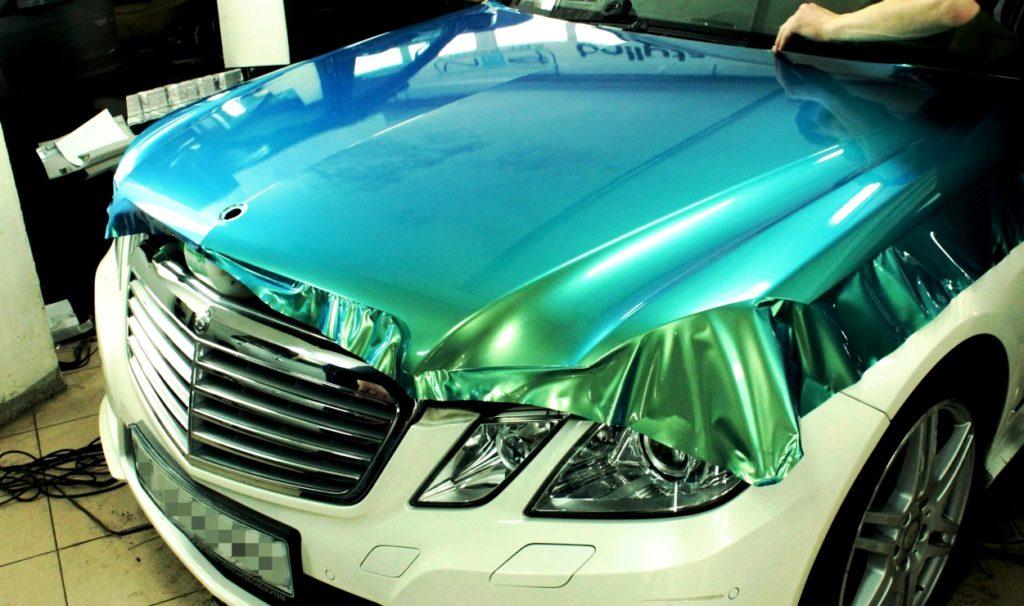 Оклейка виниловой пленкой по низкой цене в Москве — «Измени Авто»